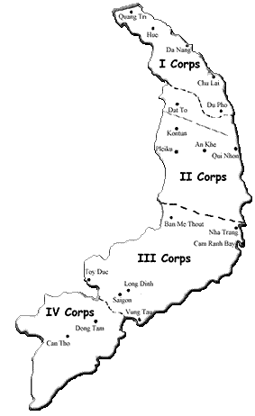 Corps Map